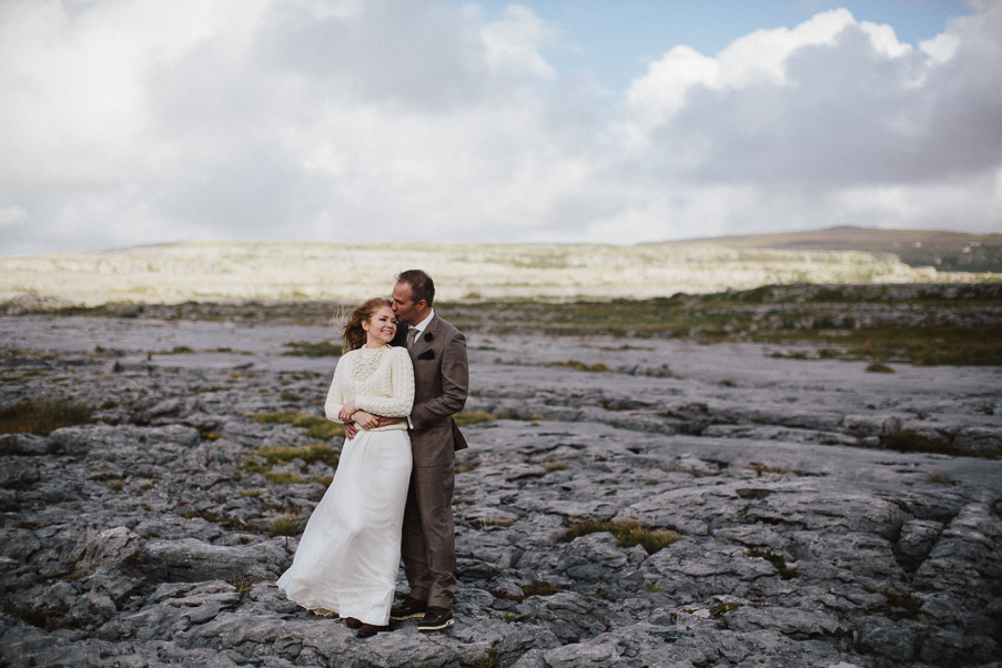 photoshoot at the burren