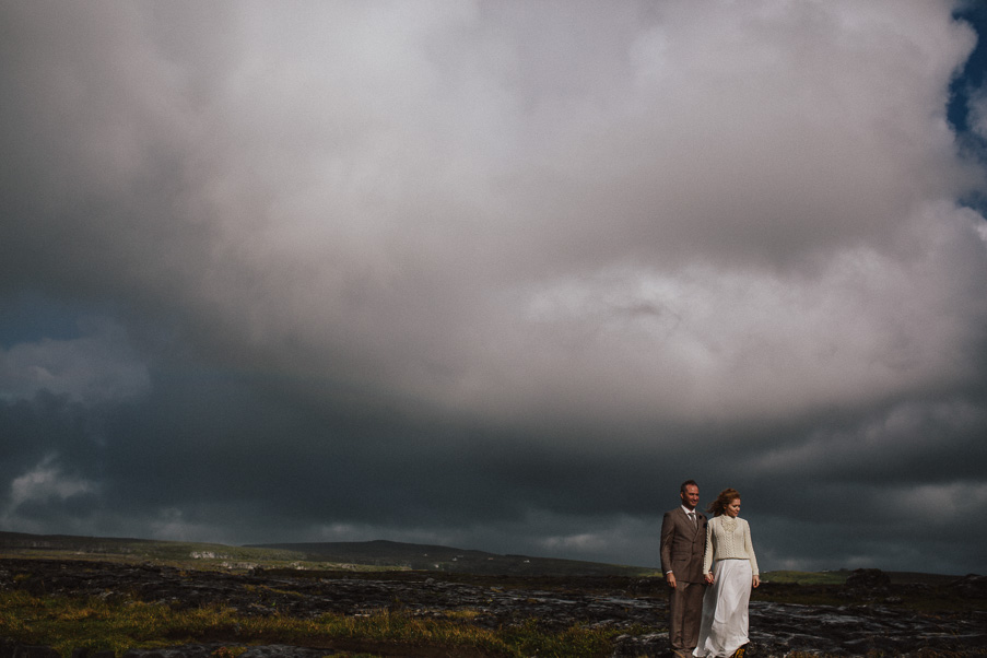 rain clouds on my wedding day
