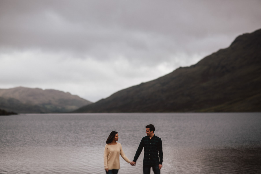 lake wedding in connemara