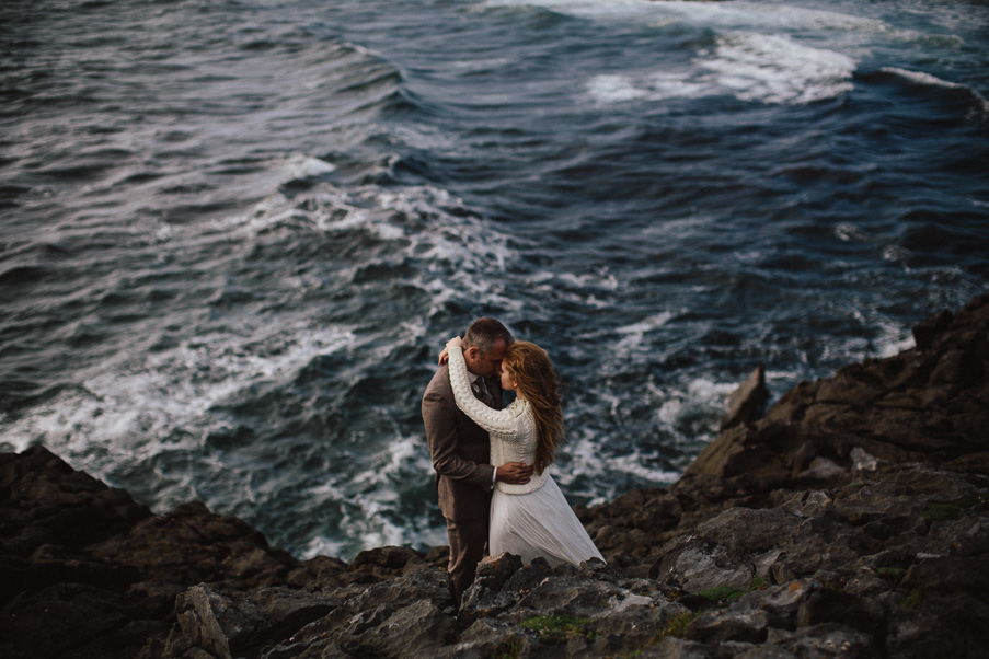 seaside wedding in ireland