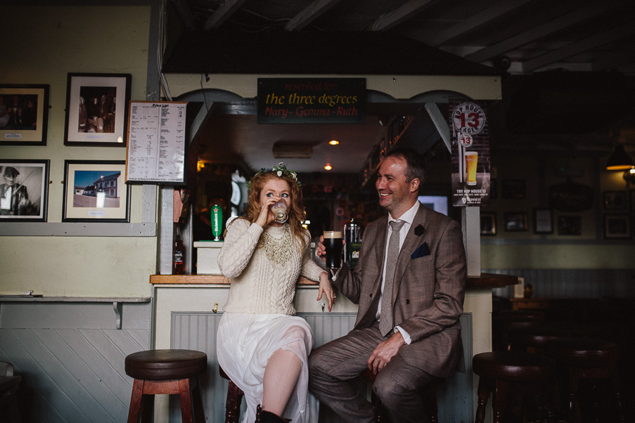 irish pub wedding