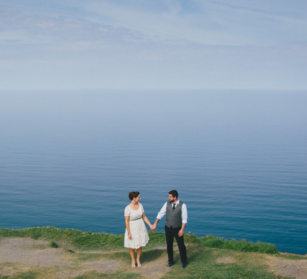 Cliffs Of Moher Elopement | Becca & Matt
