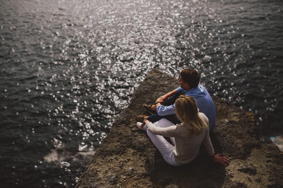 Engagement in the Burren, Ireland | Alyson & Kyle