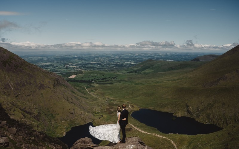 Capturing Ireland's Highest Wedding Photograph | Carrauntoohill Co.Kerry