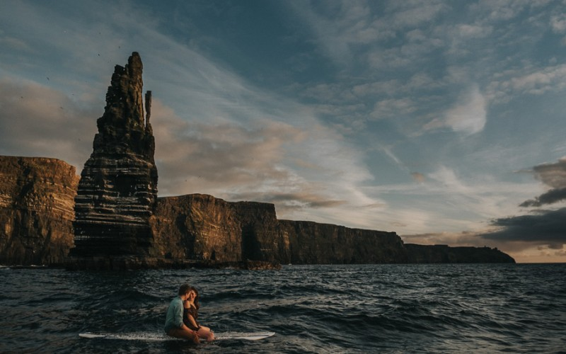 Under The Cliffs of Moher | Maebh & Donough