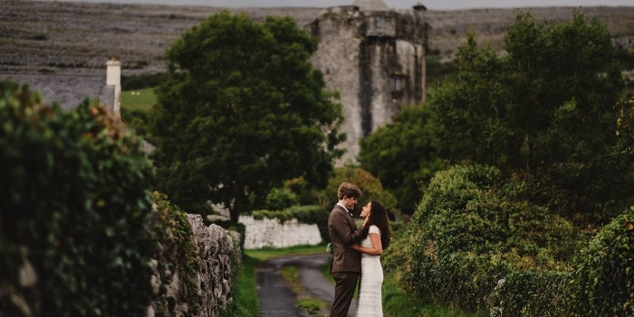 Newtown Tower Elopement, Doolin Ireland | Hayley & Spencer