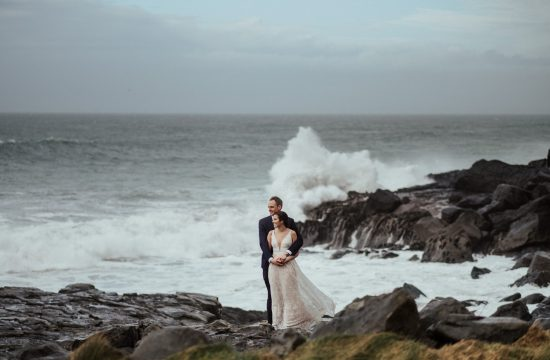wedding in Doolin co Clare Ireland elopement