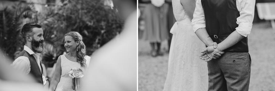 courtyard wedding france